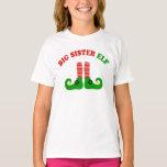 Big Sister elf Tees