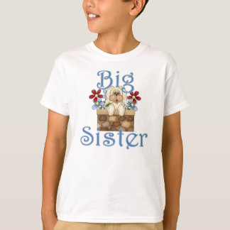 Big Sister Fluffy Pup 3 T-Shirt