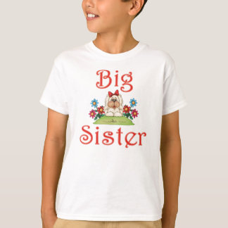 Big Sister Fluffy Pup 7 T-Shirt