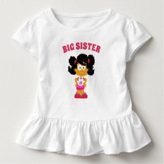 Big Sister Hispanic/ African American Girl  Shirt
