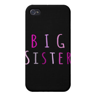 Big Sister in Pink iPhone 4/4S Covers