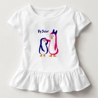 big sister little brother penguins toddler t-shirt