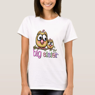 Big Sister Little Sister Owls T-Shirt