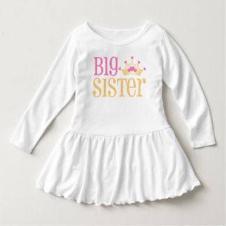 Big Sister Princess Crown Dress