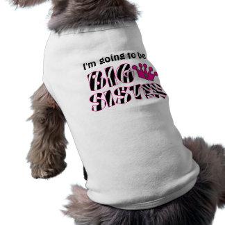 Big Sister Princess Dog T-shirt