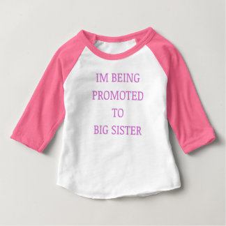 Big sister promotion punk baby T-Shirt
