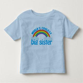 big sister rainbow shirt