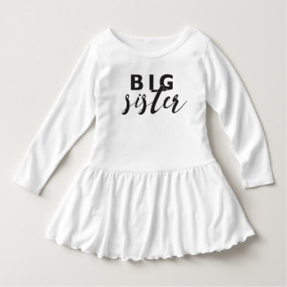 Big Sister Ruffle Dress