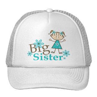 Big Sister Stick Figure Hat