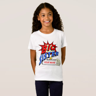 Big Sister Superhero T-Shirt