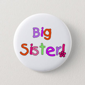 Big Sister T-shirts and Gifts 2 Inch Round Button