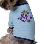 Big Sister To Be! Dog Tee Shirt