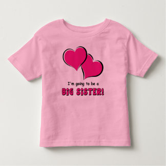 Big Sister-to-Be Toddler T-shirt