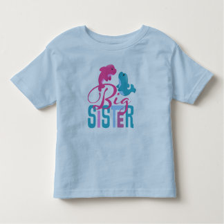 Big Sister Toddler Ringer T-Shirt
