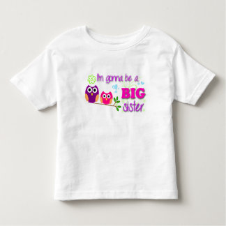 Big Sister Toddler Tee