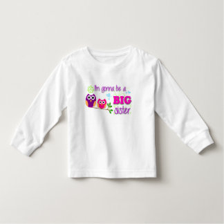 Big sister toddler tee! toddler t-shirt