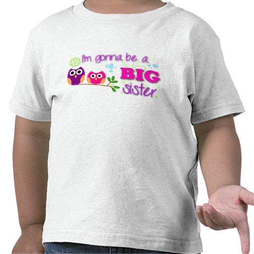 Big Sister Toddler Tee Tee Shirts