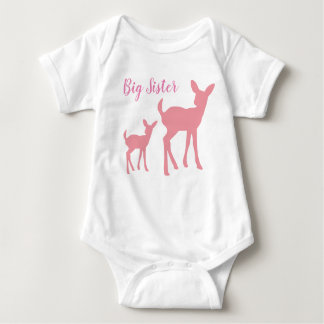 Big Sister Vest Baby Bodysuit