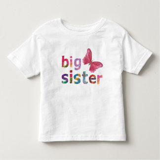Big Sister with Butterfly Design shirt