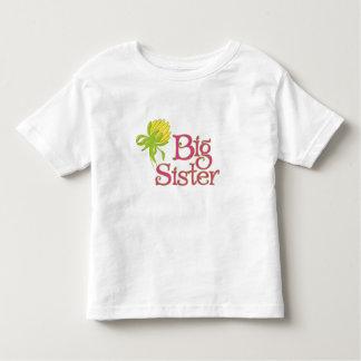 Big Sister Yellow Dahlia Bud T-shirt