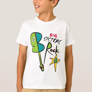 Big Sisters Rock! T-Shirt
