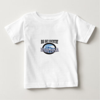 big sky country Montana Baby T-Shirt