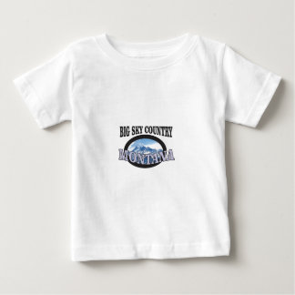 big sky country Montana Baby T-Shirt