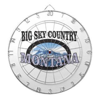 big sky country Montana Dartboard