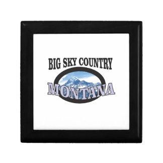 big sky country Montana Gift Box