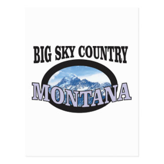 big sky country Montana Postcard