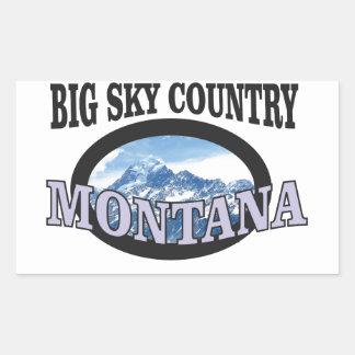 big sky country Montana Sticker