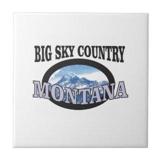 big sky country Montana Tile