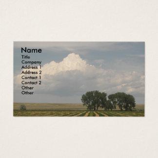 Big Sky Farmland Photo Business Card