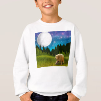 Big Sky Grizzly Kids Sweatshirt