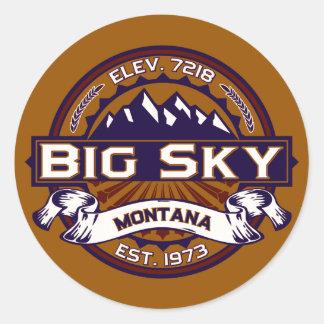 Big Sky Logo Stickers