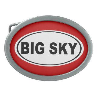 Big Sky Montana Belt Buckle