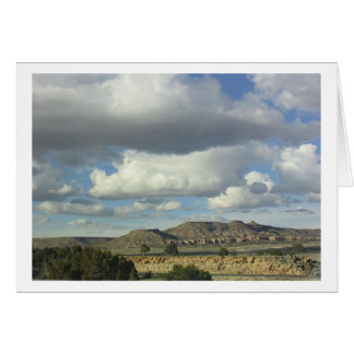Big Sky New Mexico Card