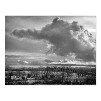Big Sky Over Wiltshire postcard