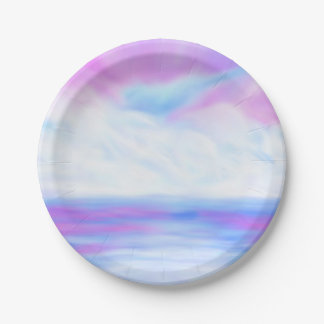 Big Sky Paper Plate
