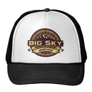 Big Sky Sepia Trucker Hat