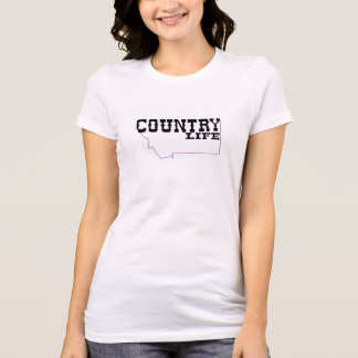 Big Sky Style-womens country life t-shirt