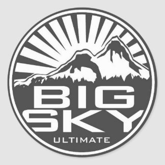 Big Sky Ultimate Sticker