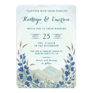 Big Sky Wedding Invitation