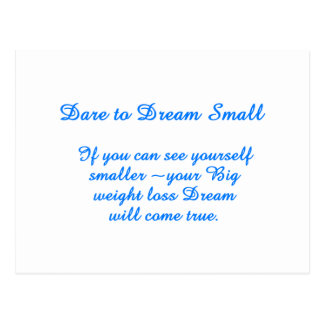 Big Small Dream Postcard