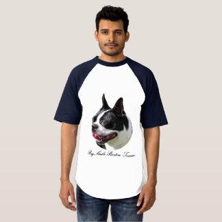 Big Smile Boston Terrier Raglan Baseball T-Shirt