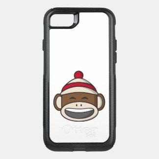 Big Smile Sock Monkey Emoji OtterBox Commuter iPhone 8/7 Case
