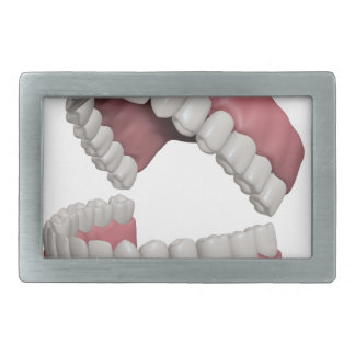 big smile teeth belt buckle
