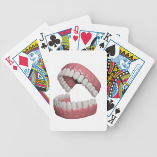 big smile teeth bicycle playing cards