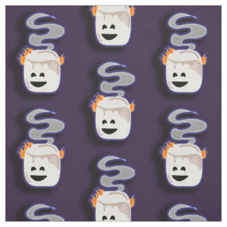 Big Smoky Smore Marshmallow Fabric