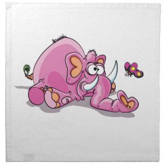 big spill elephante napkin